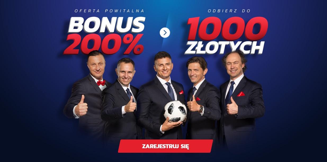 Odbierz 1000 zł bonus powitalny od eTOTO
