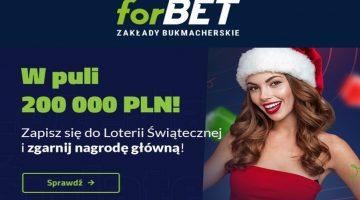 Forbet loteria świąteczna 200 000 zł